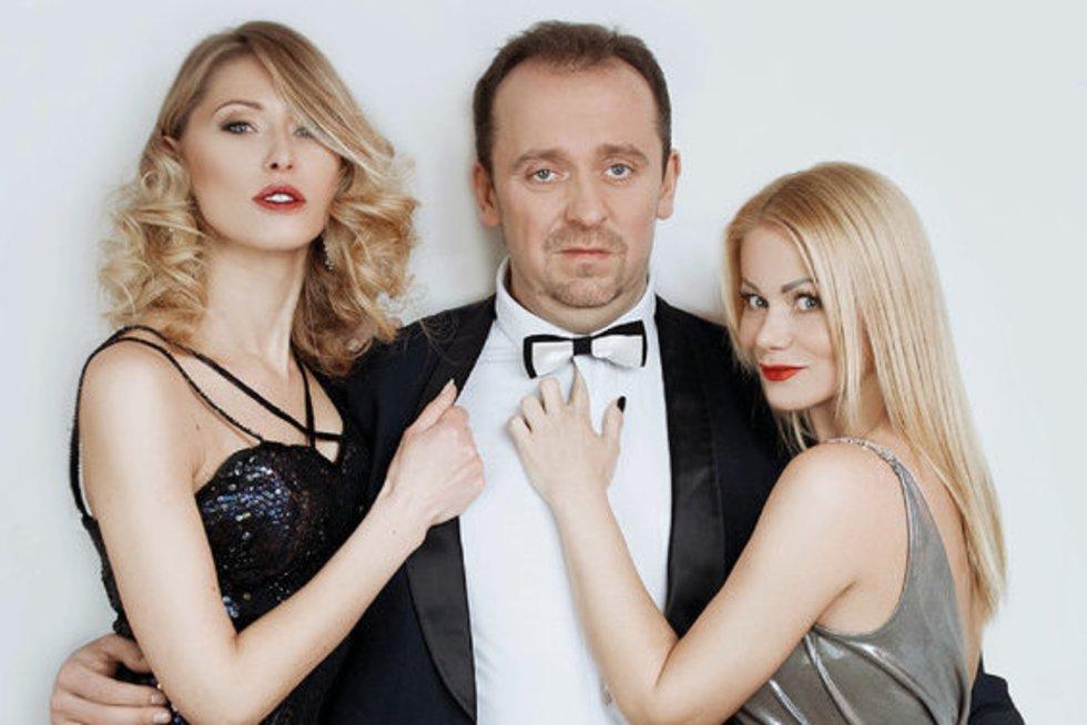 Andrius Žiurauskas, Vaida Genytė, Sandra Daukšaitė (nuotr. Organizatorių)
