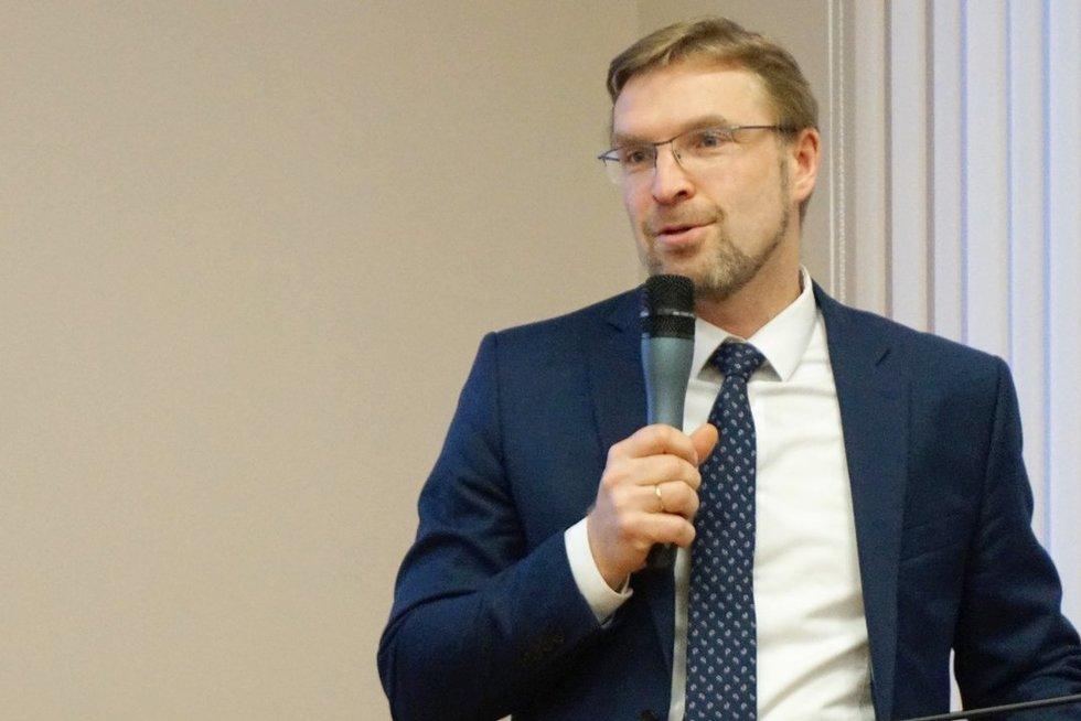 Linas Kukuraitis (Aldonos Milieškienės nuotr.)