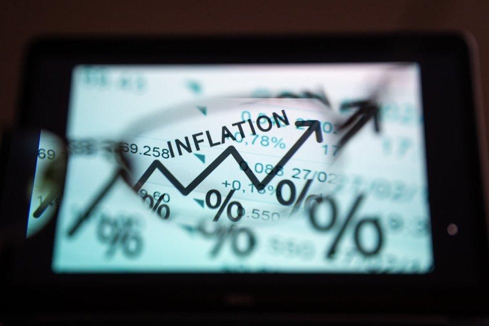 Vos pusė apklaustų lietuvių sugebėjo paaiškinti, kas yra infliacija (nuotr. Fotodiena/Justino Auškelio)