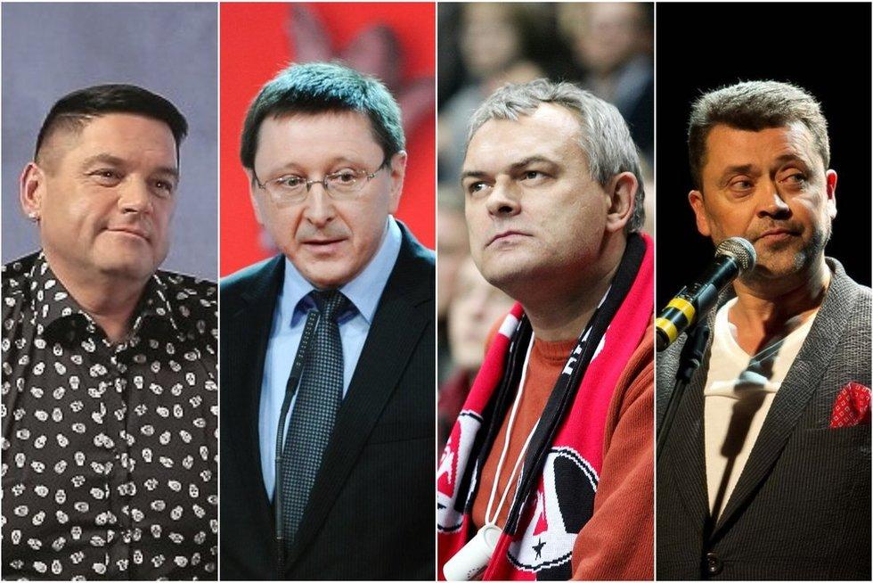 V. Cololo, V. Šerėnas, G. Ruplėnas, V. Šapranauskas (Fotobankas)