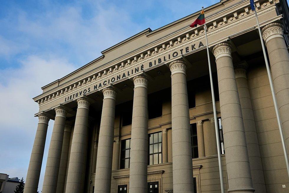 Lietuvos nacionalinė Martyno Mažvydo biblioteka (nuotr. Tv3.lt/Ruslano Kondratjevo)