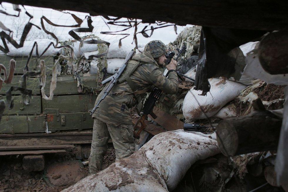 Ukrainos kariai (nuotr. SCANPIX)