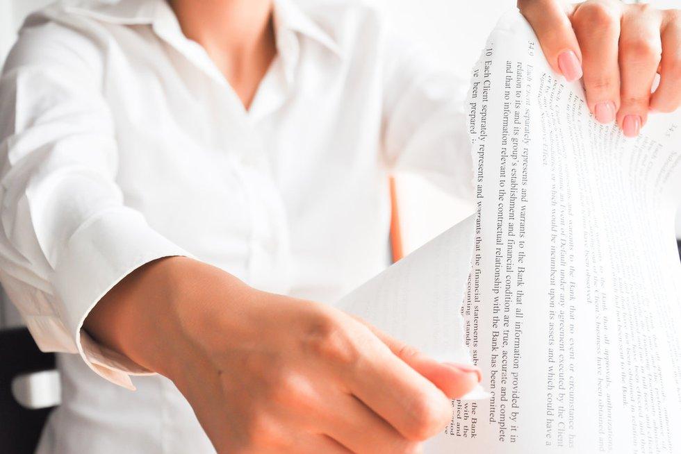 Susitarimo atšaukimas (nuotr. Fotolia.com)