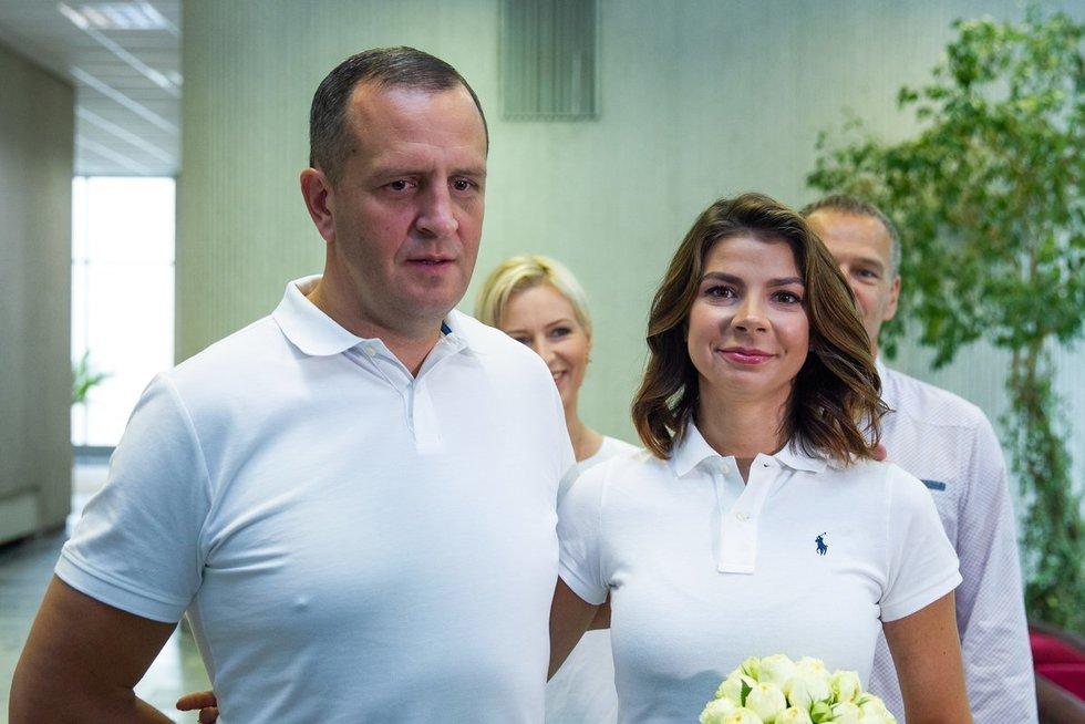 Karolinos Liukaitytės ir Andriaus Čelkio vestuvės (Irmantas Gelūnas/Fotobankas)
