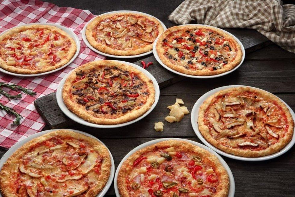 Pica su sūrio krašteliu (nuotr. Organizatorių)