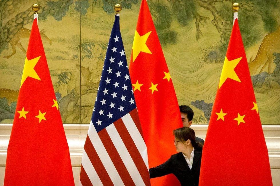 """""""The New York Times"""": JAV slapta išsiuntė du kinų diplomatus (asociatyvi nuotr. SCANPIX)"""