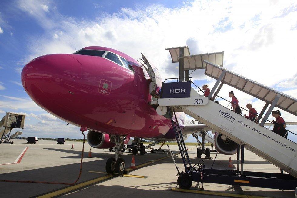 """""""Wizz Air"""" oro linijos (nuotr. SCANPIX)"""