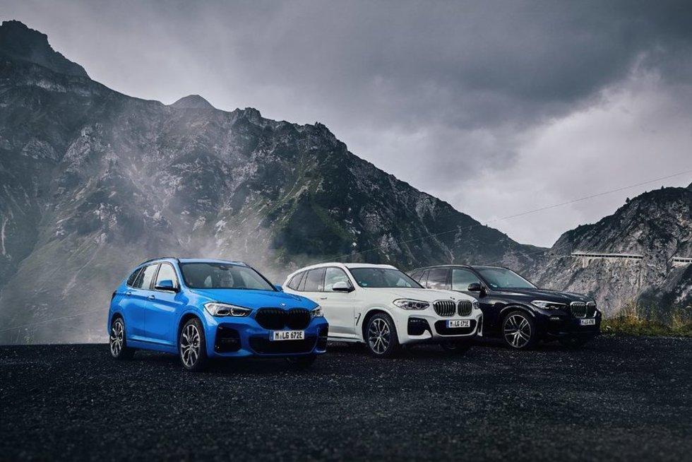 Iš tinklo įkraunami hibridiniai BMW automobiliai (nuotr. Organizatorių)
