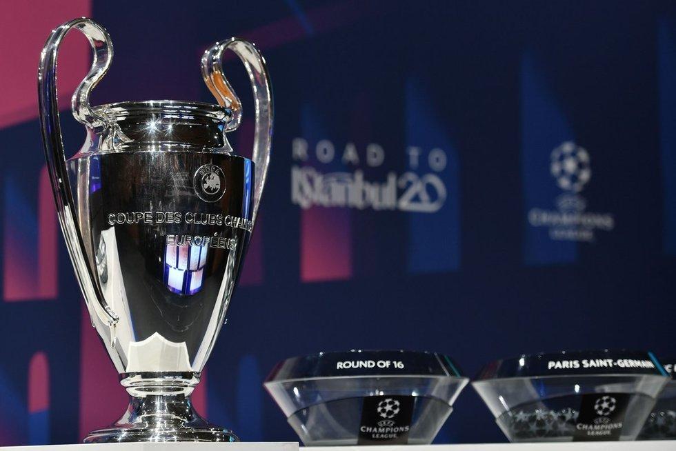 UEFA Čempionų lygos burtų traukimo ceremonija (nuotr. SCANPIX)