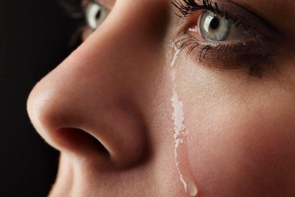 Ašaros (nuotr. 123rf.com)