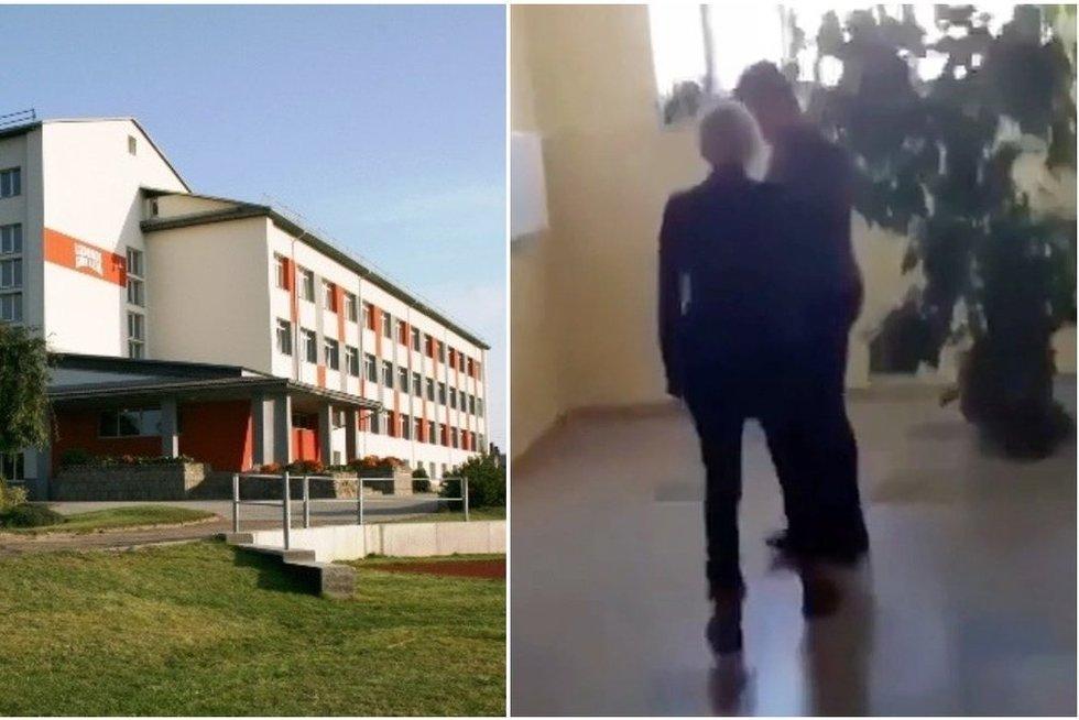 Nufilmavo merginos smurtą prieš berniuką Radviliškio gimnazijoje