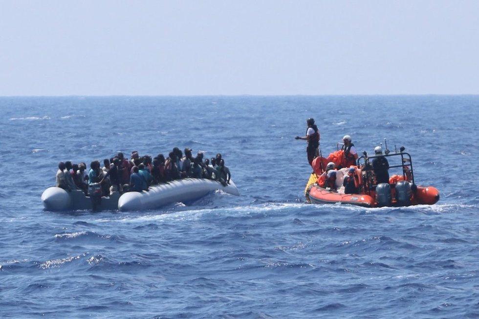 Migrantai (asociatyvi nuotr.) (nuotr. SCANPIX)