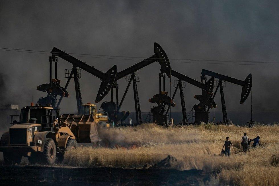 Naftos gręžinys (nuotr. SCANPIX)