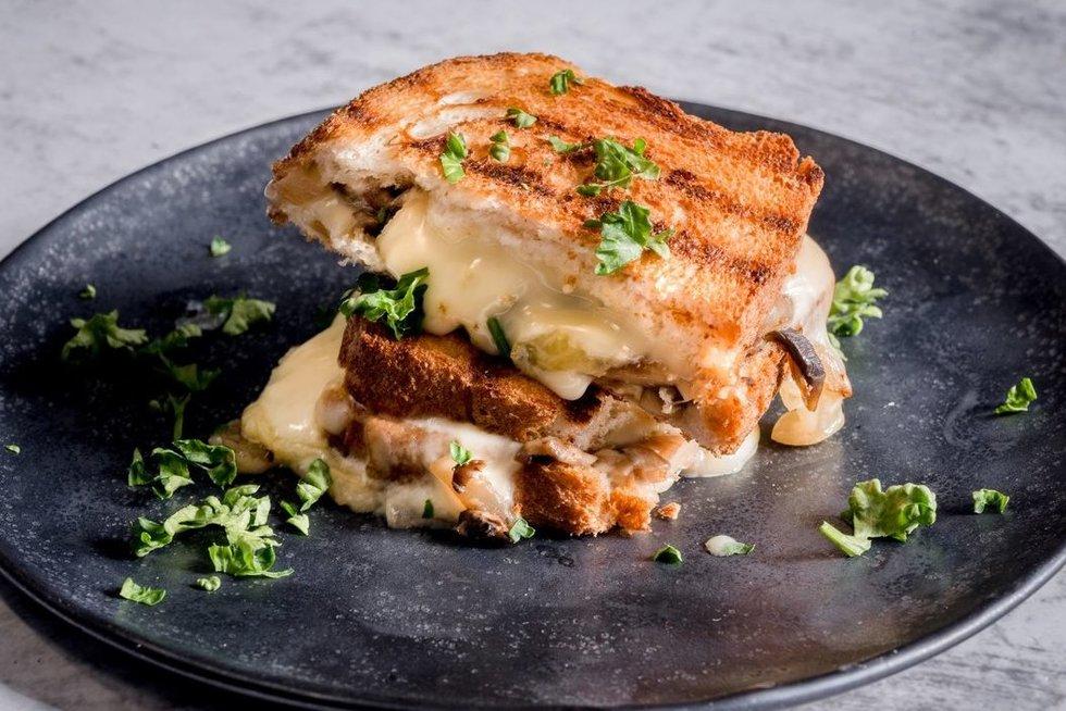 Sūrio sumuštinis (nuotr. Organizatorių)