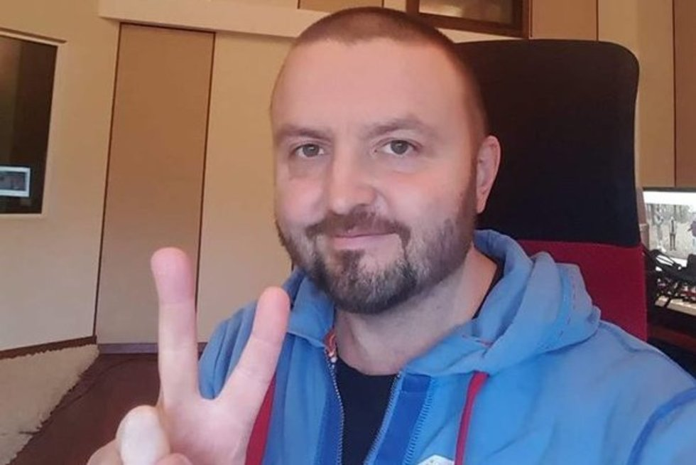 Stano serga vėžiu (nuotr. facebook.com)