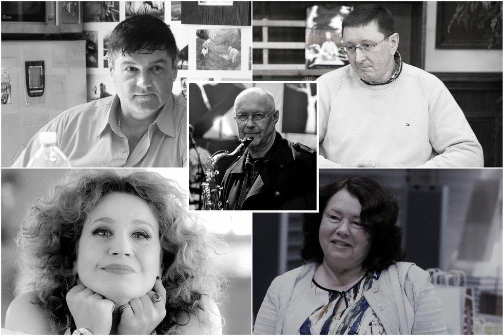 2019 metais netekome šių žinomų Lietuvos žmonių (tv3.lt fotomontažas)