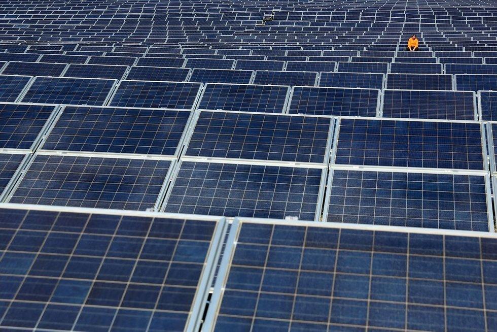 Saulės energija (nuotr. SCANPIX)