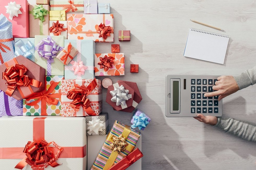 Kalėdų dovanos (nuotr. 123rf.com)