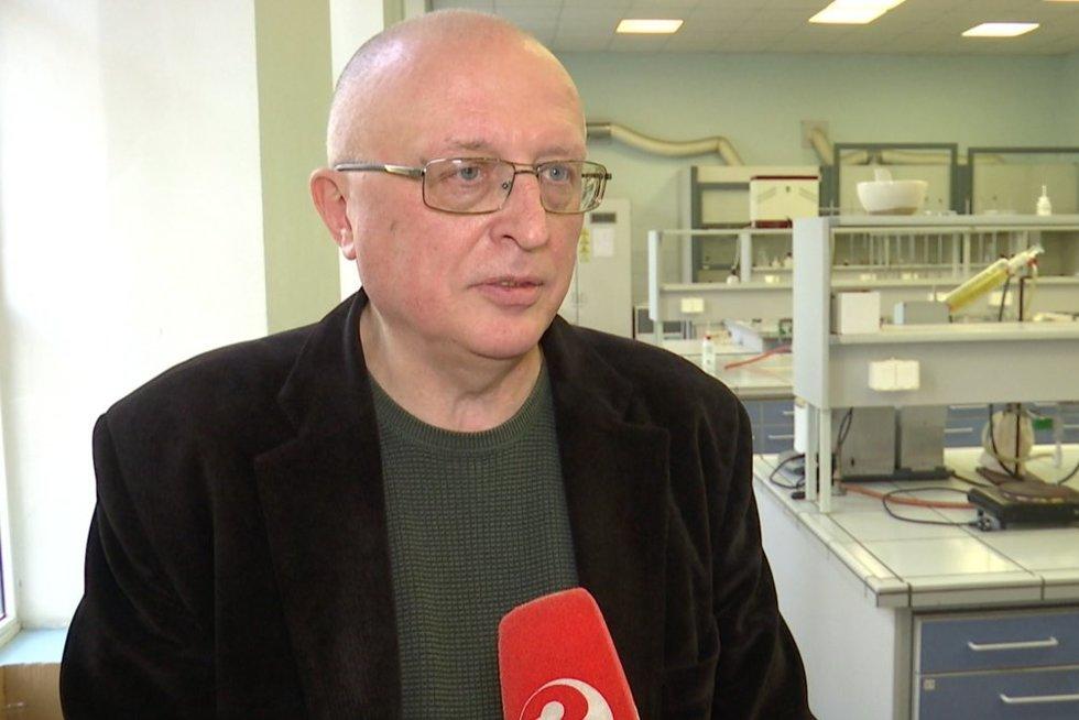 Albinas Žilinskas (nuotr. stop kadras)