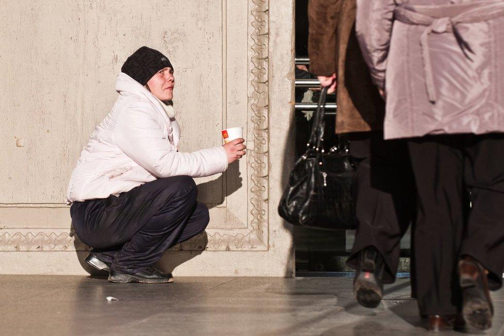 Lietuvoje - daugybė skurstančių žmonių (nuotr. Fotodiena.lt)