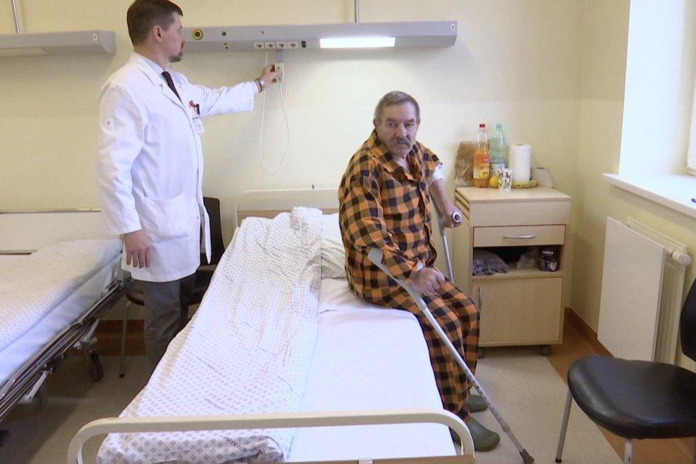 Pirma tokia operacija Lietuvoje (nuotr. stop kadras)