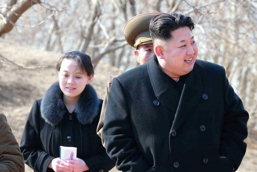Šiaurės Korėjos lyderio sesuo atvyksta į Olimpines žaidynes (nuotr. SCANPIX)