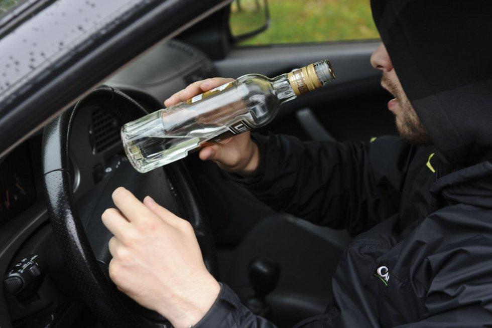 Girtas vairuotojas (Tomo Lukšio/Fotodiena nuotr.) (nuotr. Fotodiena.lt)