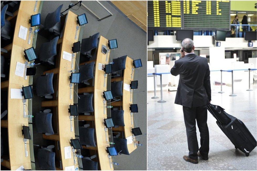 Seimūnai mielai keliauja į užsienį (TV3 koliažas)