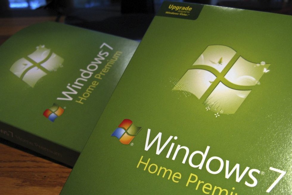 Windows 7 (nuotr. SCANPIX)