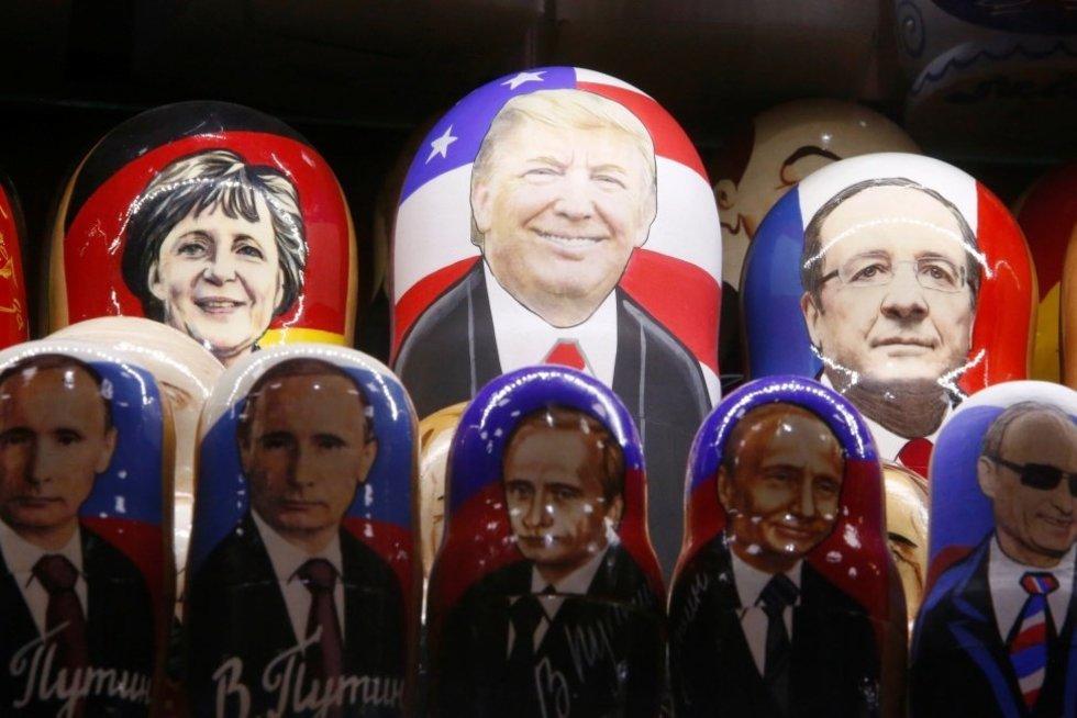 Vladimiras Putinas įžvelgė santykių su Donaldu Trumpu naudą (nuotr. SCANPIX)