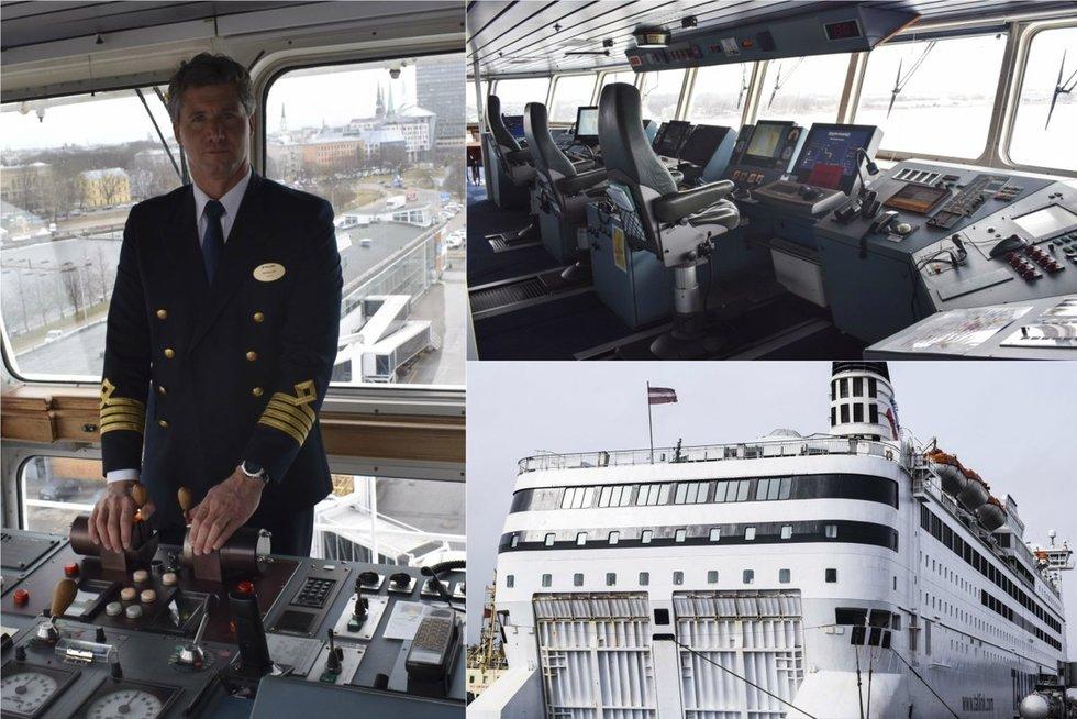 Gyvenimas vandenynų platybėse: laivo kapitonas atskleidė savo profesijos užkulisius Audriaus Bareišio nuotr.