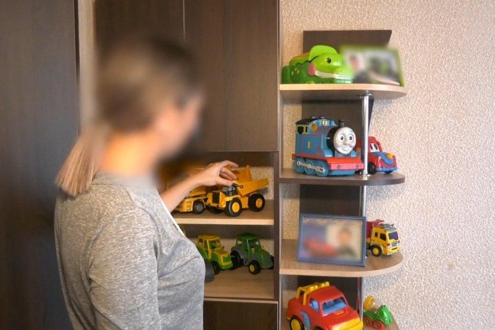 Vaikų žaislai (nuotr. stop kadras)