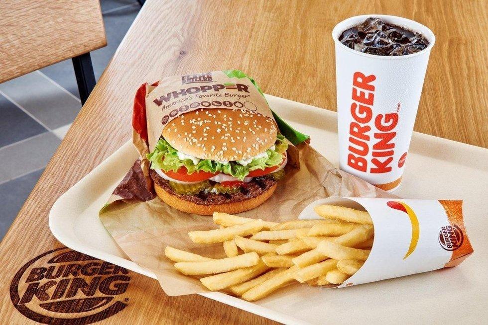 Burger King (bendrovės nuotr.)