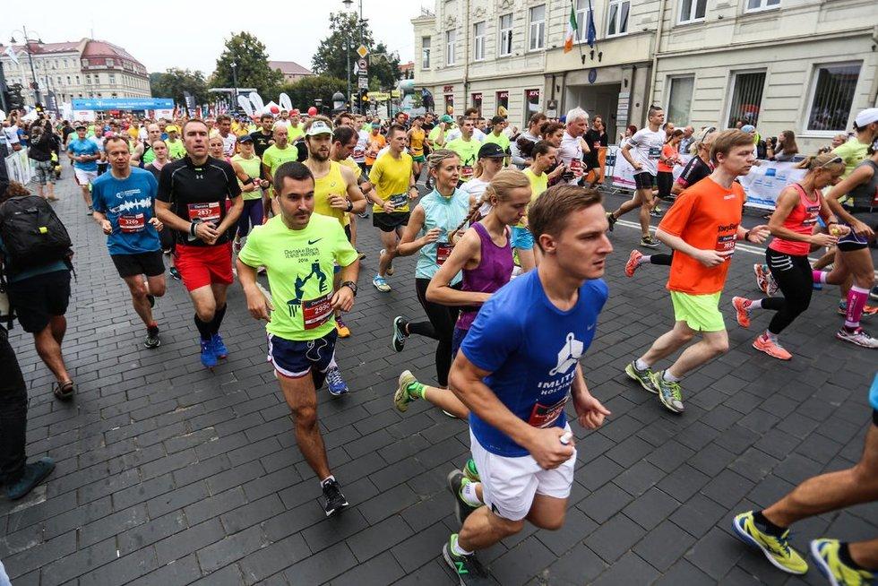 Maratonas (nuotr. Fotodiena.lt/Ieva Budzeikaitė)