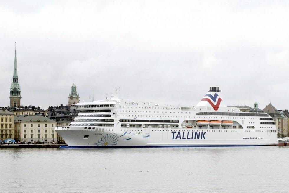 """""""Tallink"""" keltai (asociatyvi nuotr. SCANPIX)"""