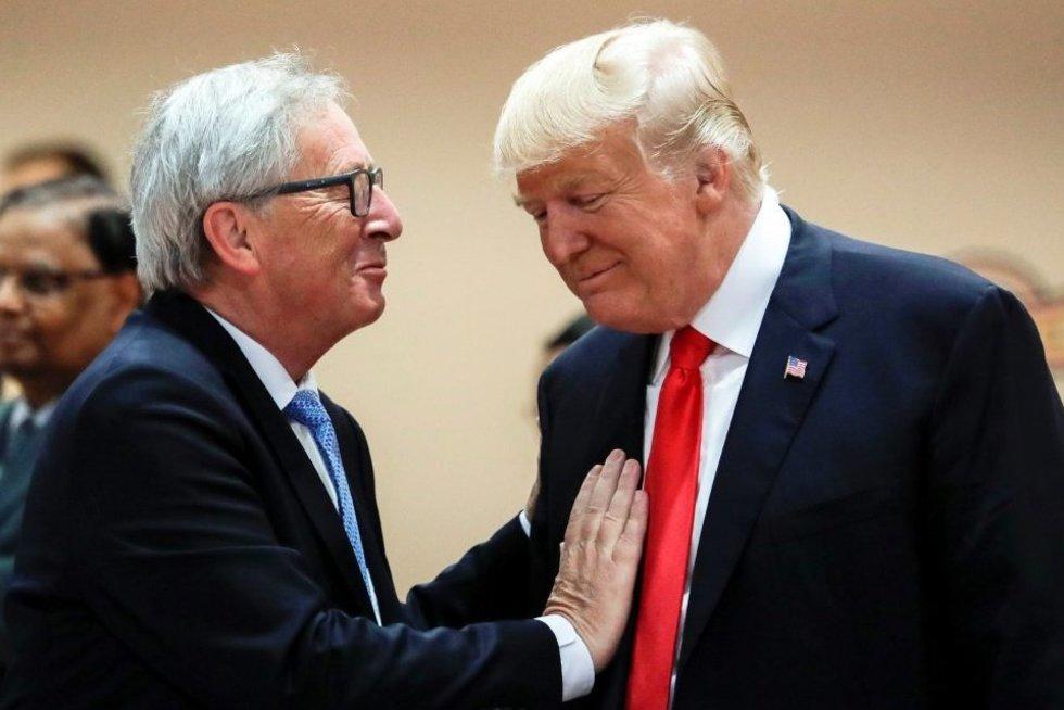 """Planuoja """"naują fazę""""JAV ir ES santykiuose nuotr. SCANPIX)"""