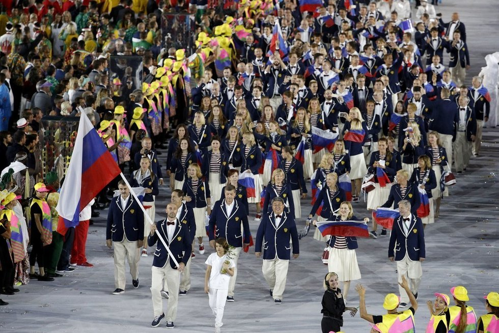 Rusijos olimpinė rinktinė (nuotr. SCANPIX)