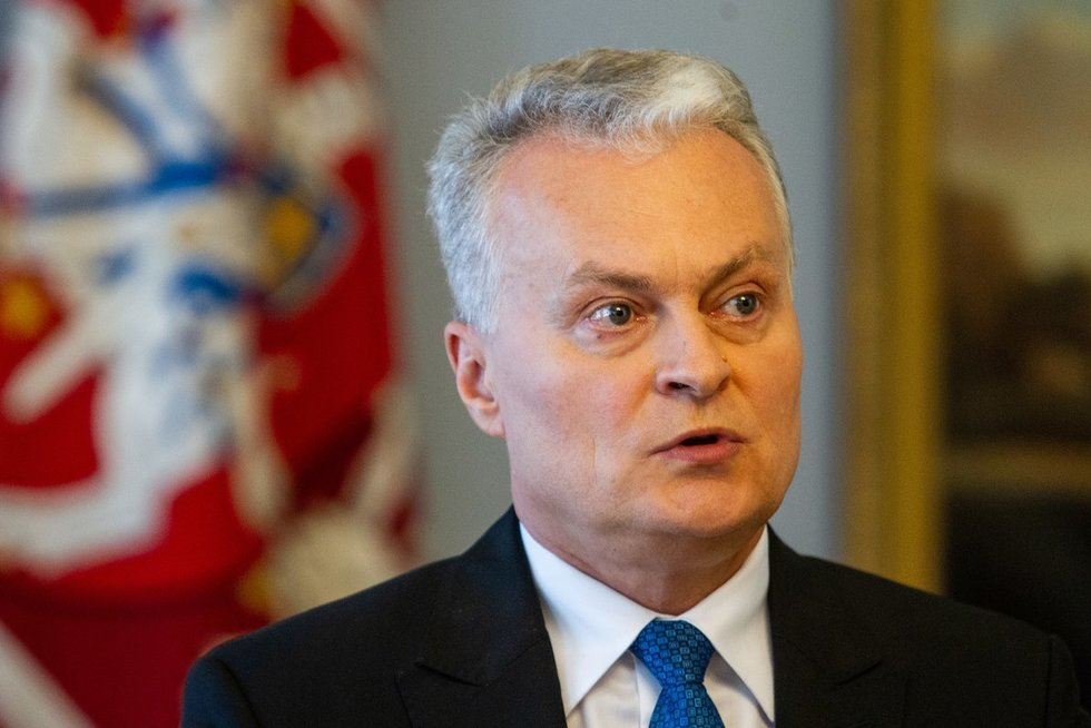Gitanas Nausėda  (Fotobankas)