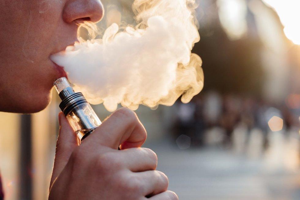 Elektroninė cigaretė (nuotr. Fotolia.com)