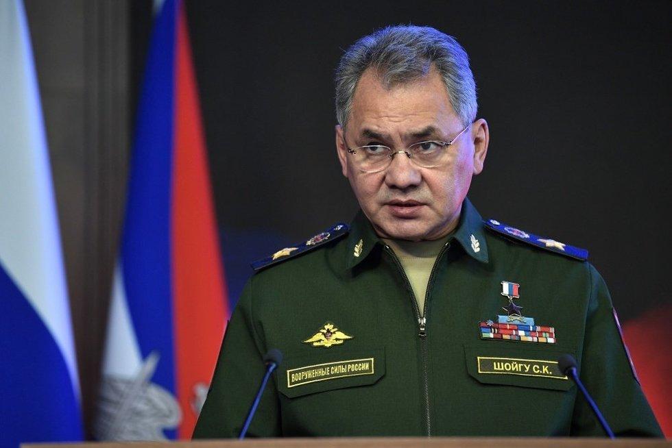 Rusijos gynybos ministras (nuotr. SCANPIX)