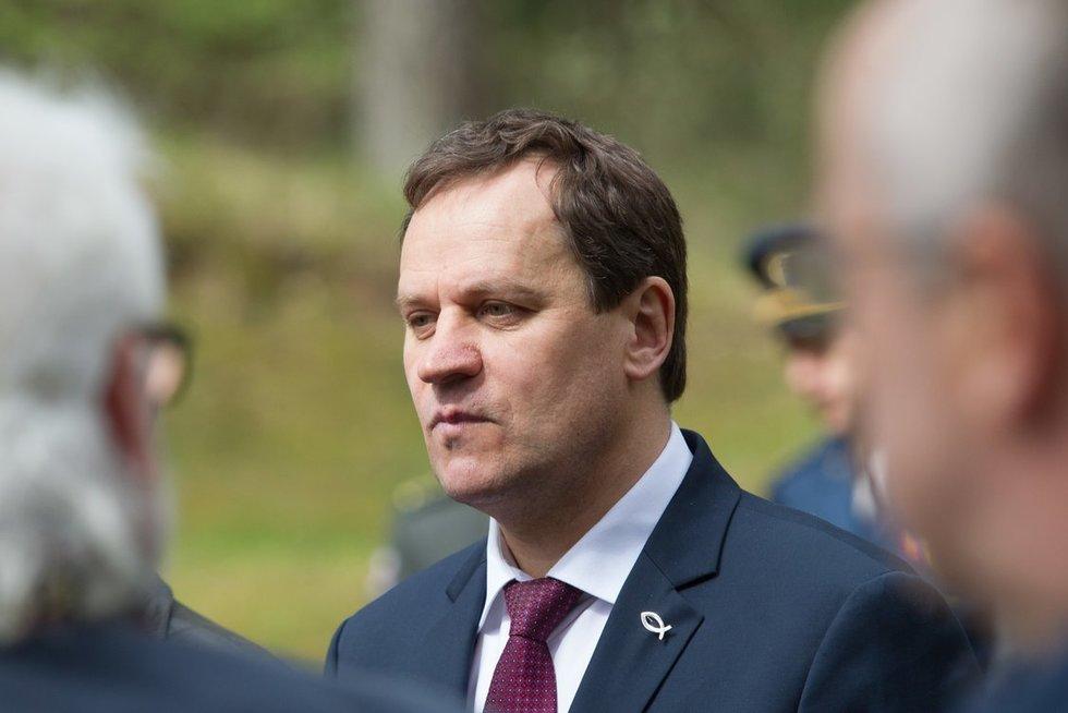 Į minėjimą atvyko ir Lietuvos lenkų rinkimų akcijos – Krikščioniškų šeimų sąjungos lyderis Valdemaras Tomaševskis. (nuotr. BFL / V. Skaraitis)