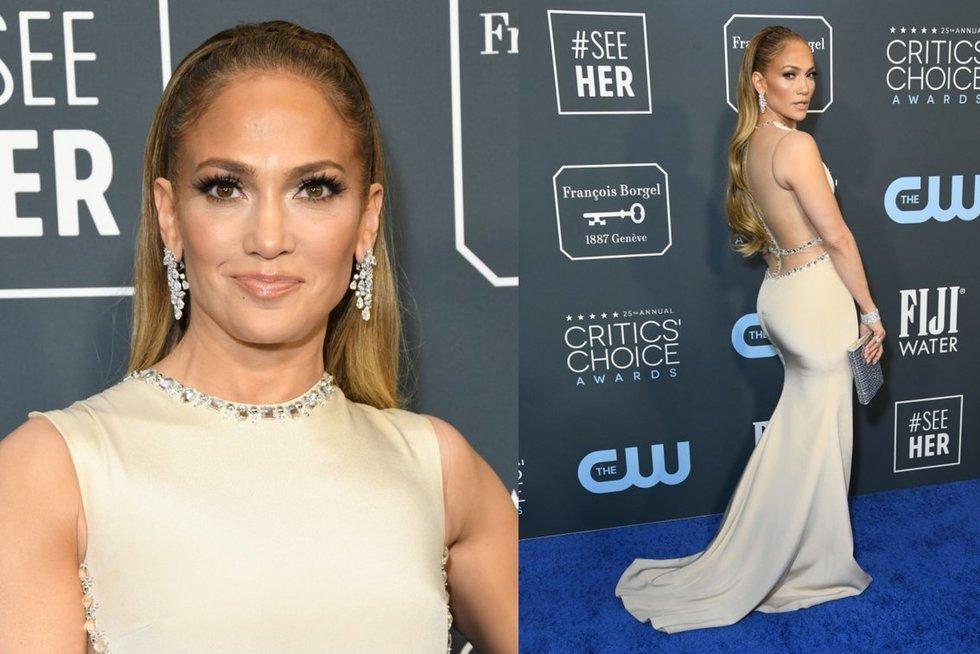 "Jennifer Lopez ""Critics' Choice Awards"" apdovanojimuose (nuotr. SCANPIX)"