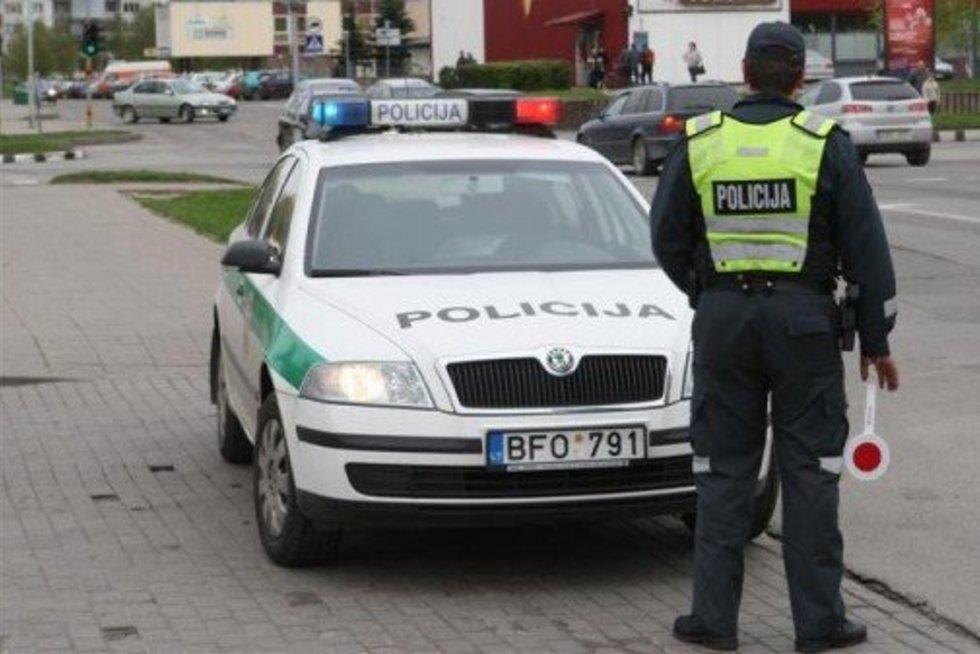 Policija (nuotr. Sekunde.lt)