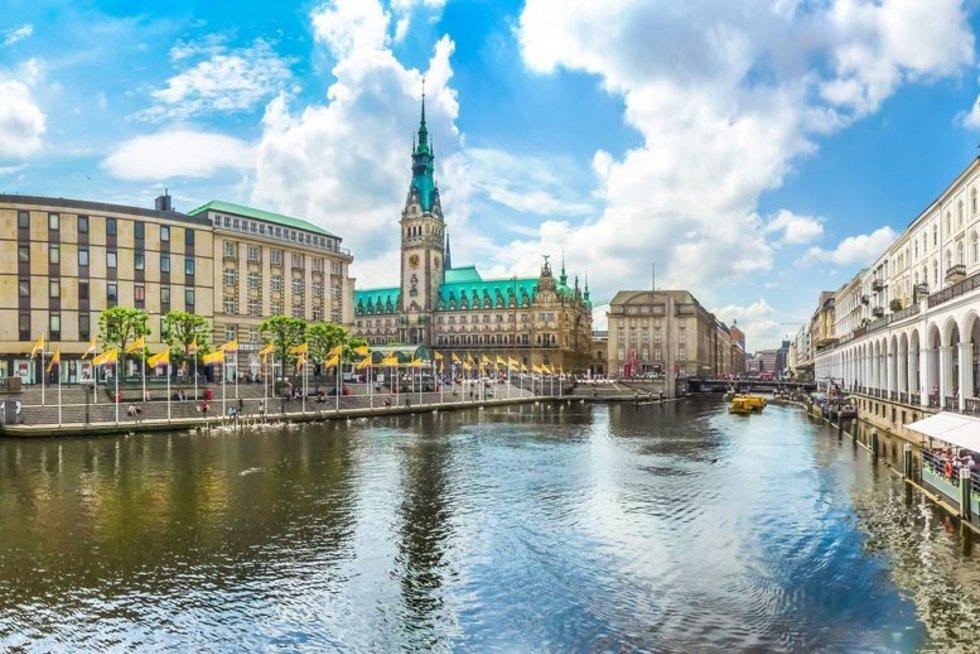 Hamburgas (nuotr. 123rf.com)