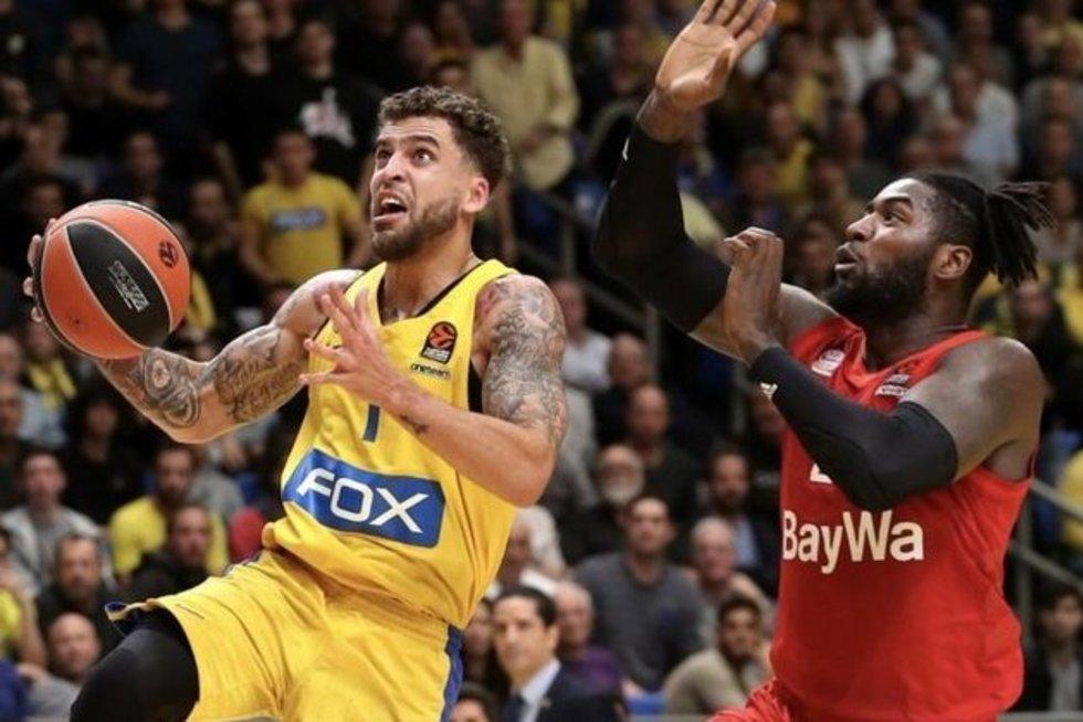 Maccabi (nuotr. Euroleague Basketball)