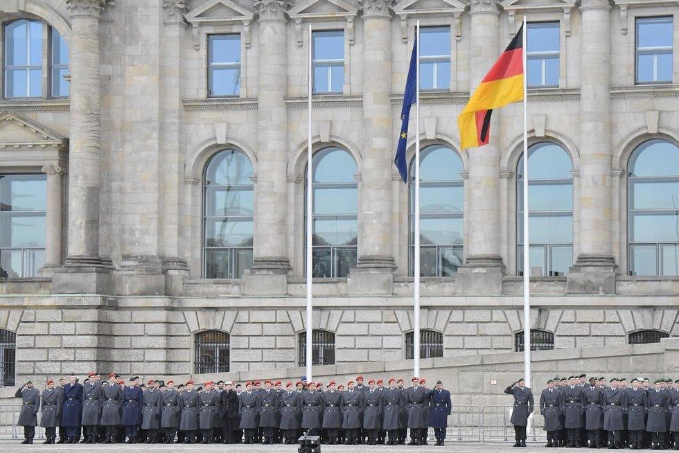 Vokietijos kariai (nuotr. Scanpix)