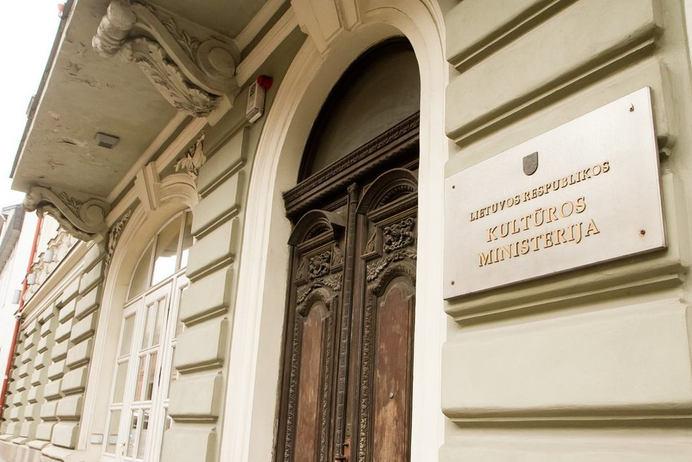Lietuvos Respublikos Kultūros ministerija (nuotr. Tv3.lt/Ruslano Kondratjevo)