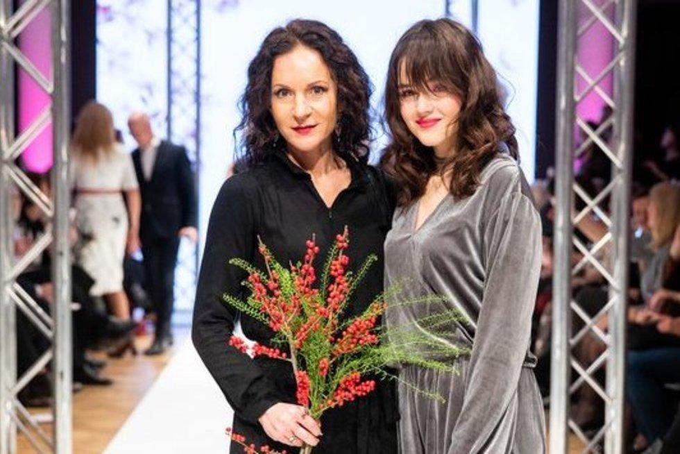 Livija Gradauskienė su dukra Liepa (Irmantas Gelūnas/Fotobankas)