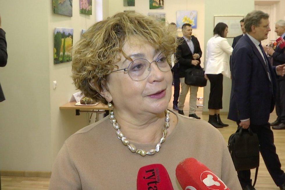Faina Kukliansky (nuotr. stop kadras)