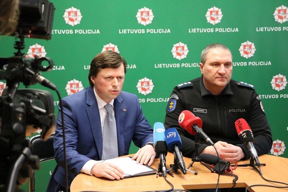 Kauno apskrities vyriausiojo policijos komisariato viršininkas Darius Žukauskas (nuotr. Kauno apskr. VPK)